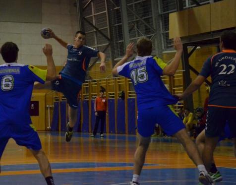 Prijateljska Člani RK Grosuplje - Mladinska reprezentanca Slovenije doma 19. 10. 2015